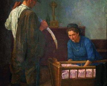 Mezőgazdasági munkáscsalád-születés 1926