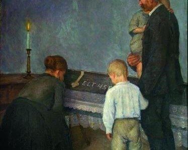 Mezőgazdasági munkáscsalád-az anya halála 1926